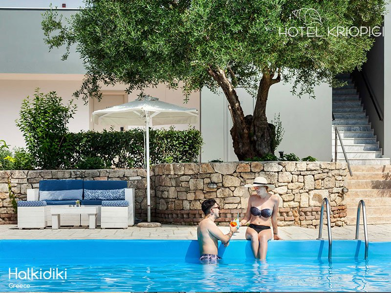 Why is June a perfect time for holidaying in Halkidiki ?