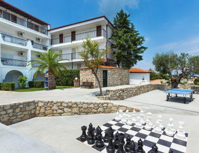 Outdoor - Hotel Kriopigi Halkidiki