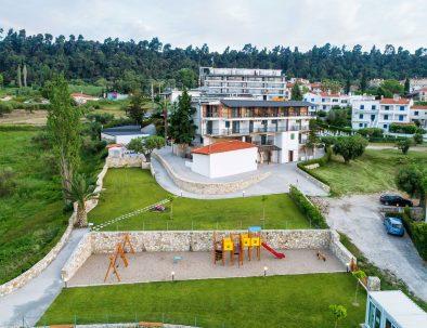 Hotel Kriopigi Aerial View