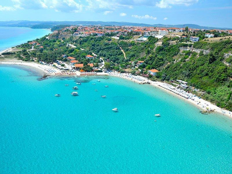 Afitos beach Kassandra Halkidiki