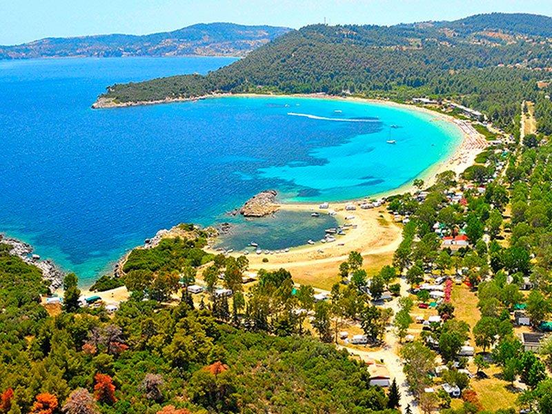 Hrousso beach (Chrousso) Paliouri Halkidiki