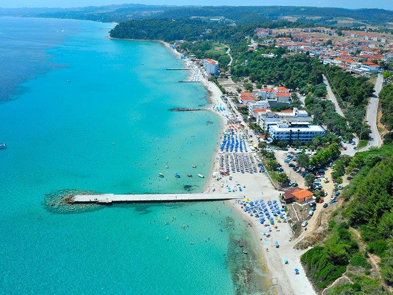 Kallithea beach Halkidiki